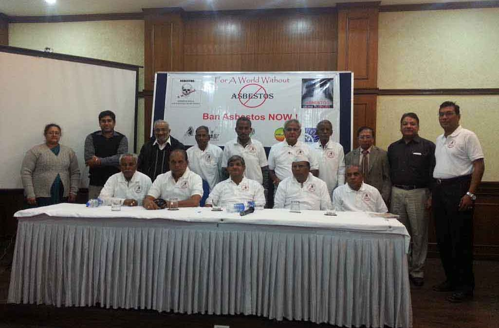 Press Conference on Asbestos, Delhi December 2013