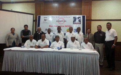 Press Conference on Asbestos, Delhi December 2013