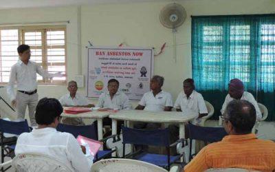 Press Conference on Ban Asbestos, Ahmedabad, May 2015